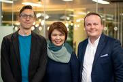 From left to right: Iain Phillip Lockwood-Holmes, managing partner Whitespace; Jean Lin, global CEO, Isobar; Iain Valentine, managing partner, Whitespace