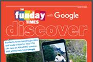 Google partners News UK to bring back The Funday Times