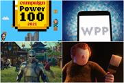 Clockwise from top left: Power 100, WPP, B&Q, Lego