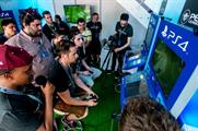 PlayStation activation: Guests could compete for tickets to the final, as well as the Nissan GT Race Camp
