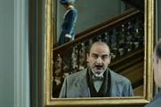 ITV: David Suchet appears as Hercule Poirot in broadcaster's promotional campaign