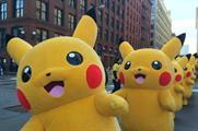 The Pikachus made their way around New York City