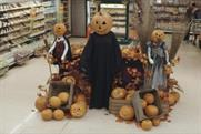 Tesco gives shoppers the creeps with severed hands and a poltergeist trolley