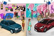 Renault creates 90s throwback experience