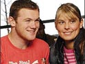 Rooney with girlfriend McLoughlin
