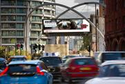 JCDecaux: launches digital screens at the Old Street roundabout