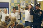 Sacla' stages school opera stunt with Taylor Herring