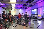 The bike-powered BUG show at London's Truman Brewery