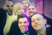 Osacar-style: Kevin Costello features in this group selfie taken at the PPA New Talent Awards night