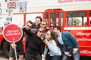 Guests were driven around Barcelona's 'ultimate selfie' spots