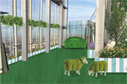 The garden installation at The View from The Shard will launch in June