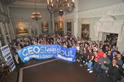 Biggest ever CEO Sleepout held at Lord's Cricket Ground