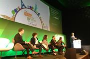 The discussion on smart cities took place on the IPA Stage at Advertising Week Europe yesterday (19 April)