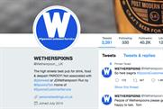 Twitter ordered to reveal identity of parody JD Wetherspoon account