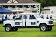 Land Rover Experience at Perth Racecourse