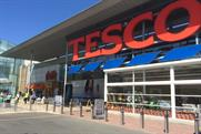 Tesco: halved sales decline in the most recent quarter