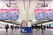 Exterion launches biggest ever tube advertising screens to promote 'London is open'