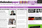 Thelondonpaper: launches IM-style news site
