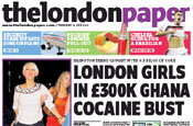 Thelondonpaper: in the lead