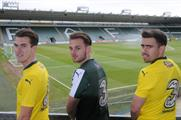 Three sponsored the iconic journey for away fans