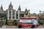 Three: encouraging more holiday spam with the Barcelona selfie bus