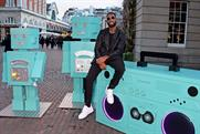 Tiffany & Co unveils beatboxing robots installation with Tinie Tempah