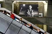 The exhibition celebrates London's art and culture scene