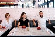 Natalie Graeme, Lucy Jameson and Nils Leonard
