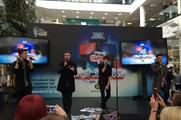 Union J performed a special gig at Morrisons' HQ