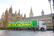 Paddy Power: delivering a 'cheeky reminder' to MPs