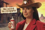 Vamousse: head lice treatment ad features Wild West theme