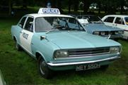 Classic police vehicles will be on display at the festival