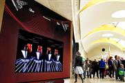 ITV's The Voice coaches spin into action for digital outdoor campaign