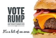 GBK burgers compared to Donald Trump as 'a bit of an arse' in outdoor campaign