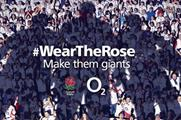 O2 is encouraging rugby fans to Wear The Rose