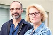 Lida: Tori Winn (right) reports to Trefor Thomas