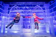 Winter Wonderland will feature the Magical Ice Kingdom