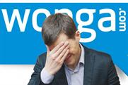 Wonga: Newcastle United's new kit has the payday lender's old logo