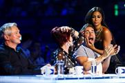 The X Factor: attracted a peak audience of nine million despite transmission problems
