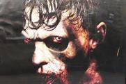 Gruesome London zombie poster banned