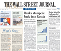 WSJ does battle with FT in Europe