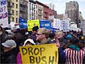 New York: anti-war march