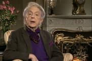 Quentin Crisp: recorded the first Channel 4 alternative Christmas address in 1993
