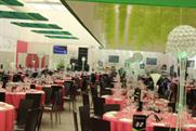 Table Art provides table centres for charity ball