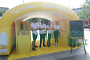 Arla stages 'Kitchen of No Compromise' roadshow