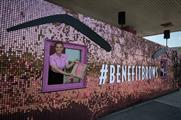 Behind the scenes: Benefit's 'GlastonBrow' drive-thru