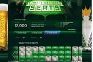 Time To Take Your Seats campaign from Carlsberg