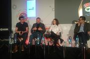 Manchipp and Lindley spoke at London's AWE
