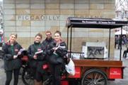Economist brand ambassadors hit the streets of Manchester