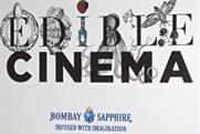 Cinemagoers invitied to join Edible Cinema and Bombay Sapphire